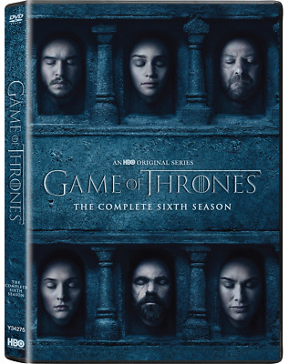 GAME OF THRONES Season 6 DVD Complete Six 6th Series New Sealed UK Stock
