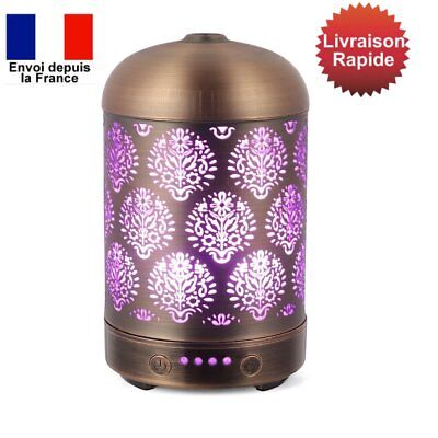 Diffuseur de Parfum COOSA Humidificateur d'Air Couleur LED