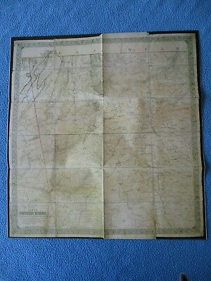 Civil War Map - General William T. Sherman's Map of Northern Georgia - FRAME IT