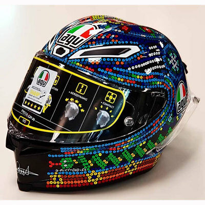 AGV Pista GPR Valentino Rossi Winter Test 2018 Limited Edition Doctor 46