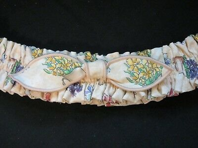 "Longaberger Mothers Day EARLY BLOSSOMS  GARTER  13"" FLAT"