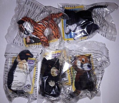 Mc Donalds Happy Meal / National Geographic Kids / die zweiten 5 Figuren / Neu