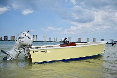 World Famous 16Ft Bimini Bonefisher Skiff By Ansil ***look***