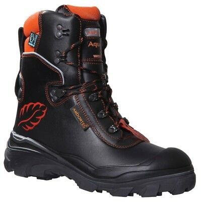 Arbortec Aquafell Xpert Class 2 Forestry Chainsaw Protective Boots Black