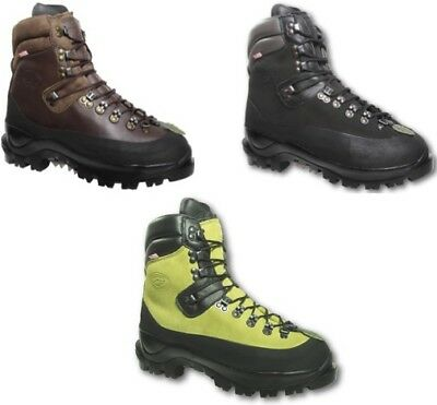 Arbortec Scafell Class 2 Forestry Chainsaw Protective Boots Lime / Brown / Black