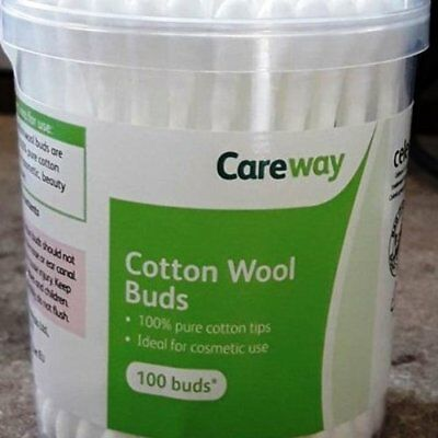 Careway Cotton Wool Buds 100 S