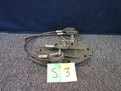 Military Engine Transmission Sling Truck Lift Wire Rope Army 12268035 Used