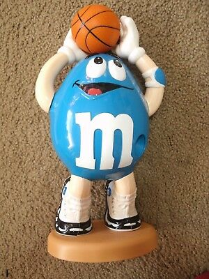 Vintage M&m Candy Dispenser  Official M&m's Brand Collectible Toys Basketball