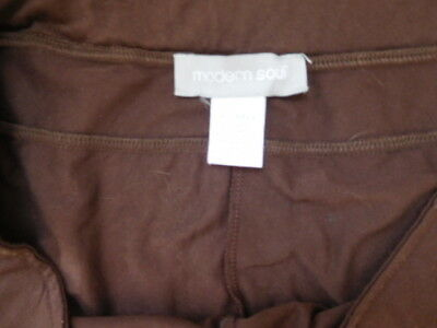 Modern Soul  Pants    Dark Brown  Modal & Spandex    Size XL   EUC