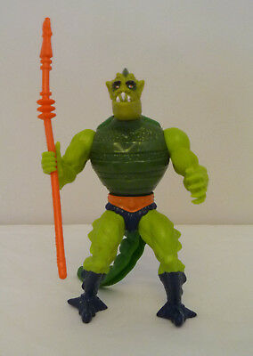 Vintage Whiplash MOTU MASTERS OF THE UNIVERSE Action Figure, 1980's