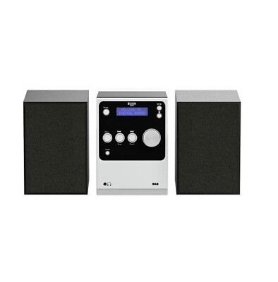 Bush Micro Hi Fi System With CD Bluetooth and DAB BD608