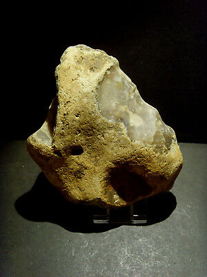 Lower Palaeolithic - Enormous Acheulean pebble chopper - Rare UK C.350,000+ BP