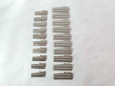 20 US Shelby Co Can Openers 10 Each P-51/ P-38 US Military Survival Collect Hunt