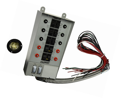 Reliance Controls Corporation 30310A Pro/Tran 30-Amp Indoor Transfer Switch for