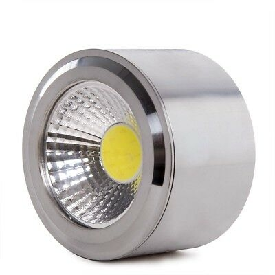 Downlight de LEDs de Superficie COB Circular Cuerpo Niquel Satinado  Ø68mm 5W 45