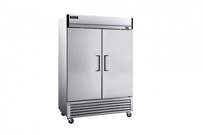 Titan XTF49-BM XT Series Upright Reach In Freezer 2 Door