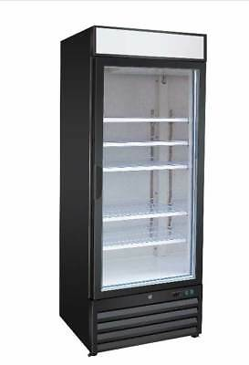 Titan XTGM23R XT Series Glass Door Merchandisers Swing Refrigerator 1 Door