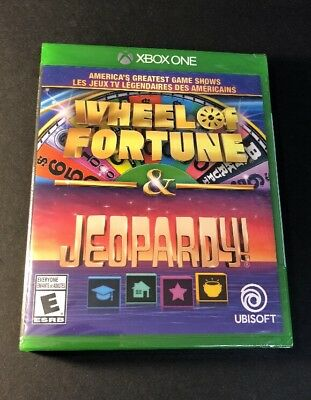 America's Greatest Game Shows [ Wheel of Fortune & Jeopardy ] (XBOX ONE) NEW