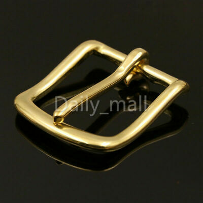 Brass Heel Bar Buckle end bar buckle belt half buckle single pin for bag belt