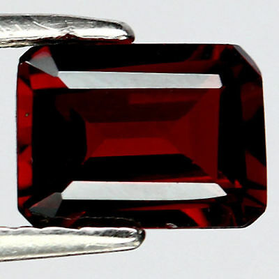 1.91 Ct Aaa Natural Red Africa Garnet Octagon