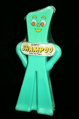 Rare Vintage Gumby Soakie, Soaky Shampoo with original Shrink Wrap Unopened