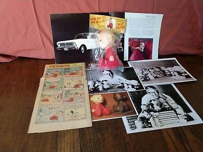 1958 Vintage Sally Peanuts Hungerford doll ORIGINAL package extras No Reserve