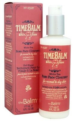 theBalm Rose Face Cleanser - For Normal to Dry Skin 177ml Genuine