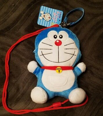 NEW Doraemon Plush Pouch Japan Crane Prize Toreba!!
