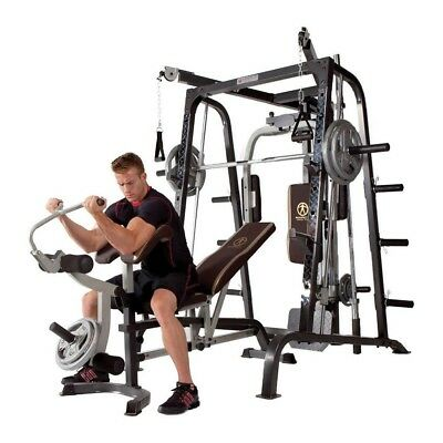 Workout Machine Total Body Training Home Gym System Exercise Muscles Fitness Bar