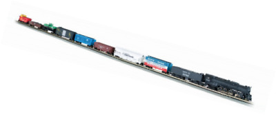 Bachmann Trains Empire Builder – N Scale Ready to Run Electric Train Set - Desig