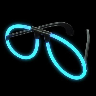 Blue Glow Glasses (12 Pack) Glow Products Party Eyeglasses 1 Dozen