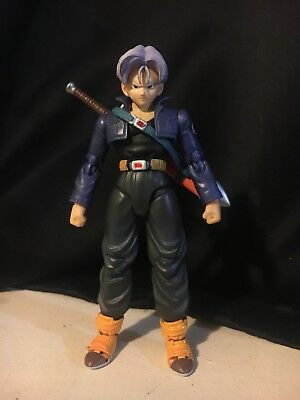 Original authentic S.H. Figuarts Dragonball Z Future Trunks Action Figure Loose