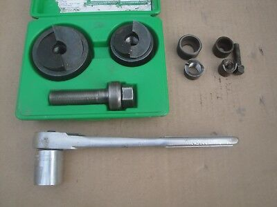 GREENLEE 7237BB with extras