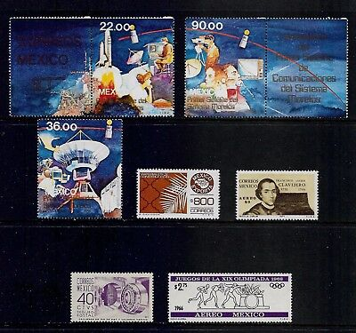 MEXICO mixed mint collection, MNH MUH