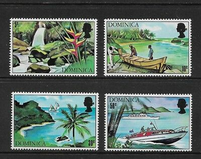 DOMINICA 1971 Tourism, mint set of 4, MNH MUH