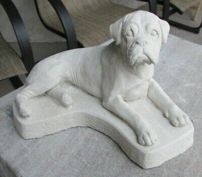 Concrete Boxer Statue Or Use As A Memorial,,,,,grave Marker