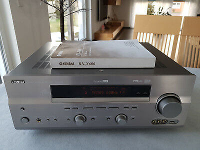 Yamaha RX-N600 Natural Sound AV Receiver, BDA
