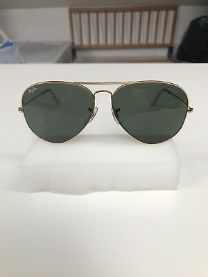 VINTAGE RAY BAN Aviators Bausch  Lomb USA Excellent Condition 58   14 G15 -  EUR 39,03   PicClick FR fc7dd350a2e6