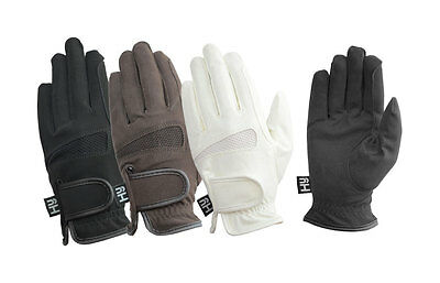 Hy5 Lightweight Competition Gloves Black/Brown/White Various Size PR-3047