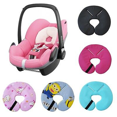 Car Seat Head Hugger Support Fit Maxi Cosi Pebble Newborn Baby Headrest Pillow