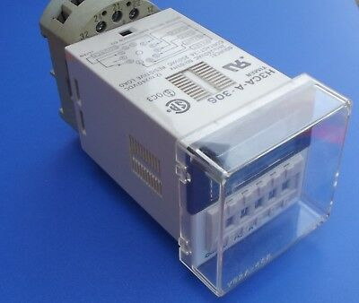 Omron solid state timer H3CA-C-306 24 to 240 AC
