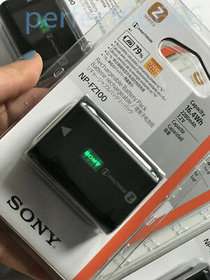Sony Original NP-FZ100 NP FZ100 Battery For Sony ILCE-9 A9 A7RM3 A7RIII A7R3