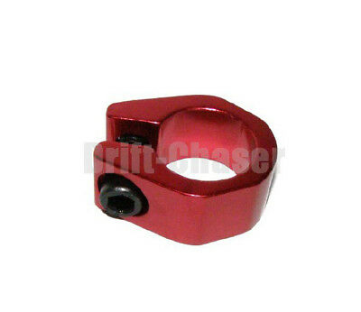 Old School Bmx Bike Tuff-Neck Style Alloy Seat Post Clamp, Size 25.4mm, Red