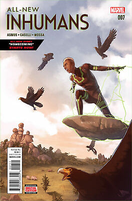 All New Inhumans #7 (2015) Vf/nm Marvel