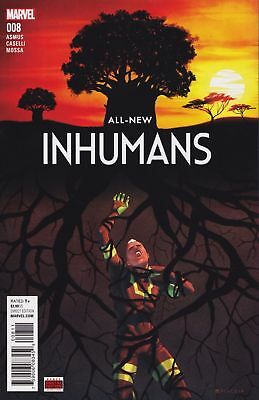 All-New Inhumans #8 (2015) Vf/nm Marvel