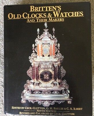 BRITTEN'S OLD CLOCKS & WATCHES Ninth edition, horology Brittens