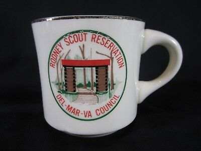Boy Scout Rodney Scout Reservation Del Mar VA Council Coffee Cup Mug