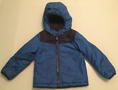 North Face Reversible Hooded Jacket Boys Size 18-24 months