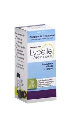 Lycelle Head Lice Removal Kit, Pesticide-Free Exp :8/2020.
