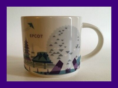 Starbucks Disney Parks Epcot You Are Here Collection Coffee Mug Silver Monorail